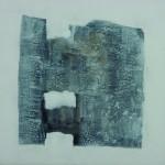 Trouée    Acrylique sur toile  50 x 50 2007 Vendu
