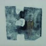 Béance    Acrylique sur toile  50 x 50 2007 Vendu