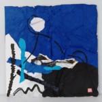 Jeux-d'ombre-et-de-lumière-Collage-encre-de-chine-sur-papier-40x 40-  2019