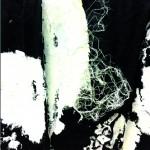 Plis de l'émotion- Acrylique sur toile plissée - 20 x20 - 2018