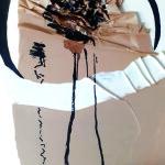 Ballon d'essai - 50x70 - Collage, pliage, encre - 2021