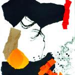 La veille de presque tout - Collages- 30 x 40 - 2020