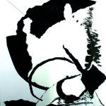 Rencontres insolites - Encres Collages- 30 x 40 - 2020
