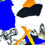 Respirations d'automne - Collages - 30 x 40 - 2020