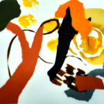 Sortir de soi - Collages - 30 x 40 - 2020